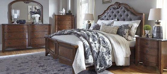 amerikietiški miegamojo baldai