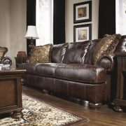 "Trivietė sofa ""Axiom – Walnut"""