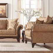 amerikietiškos sofos Lariss Gold
