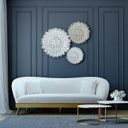 svetainės sofa kreminė