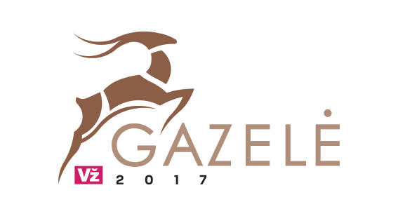 Gazele logotipas