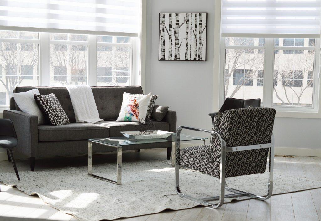 klasikiniai baldai, interjero dekoravimas